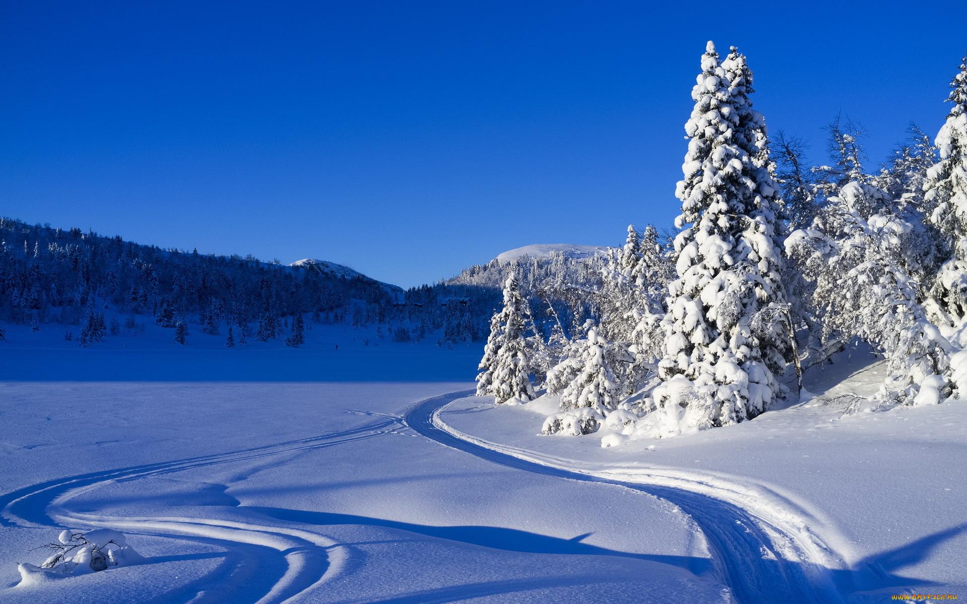 Красивые Зимние Обои На Рабочий